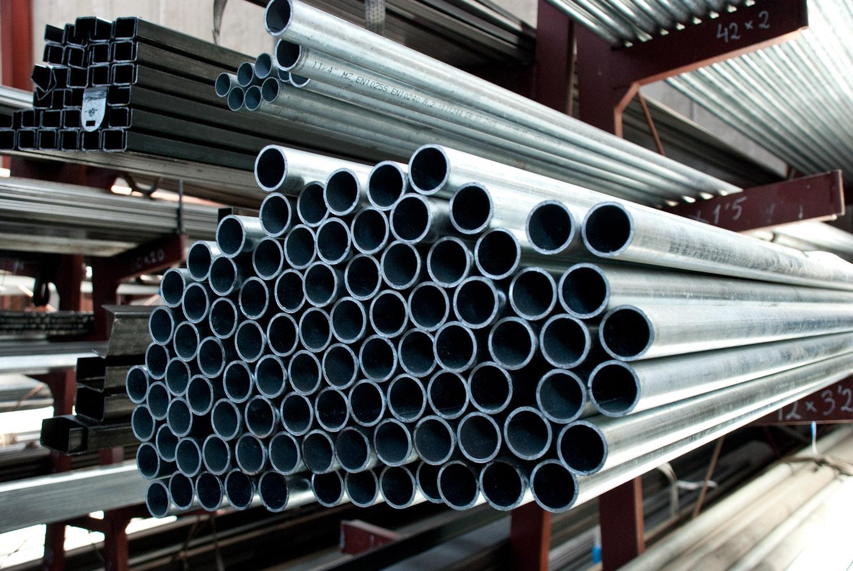 La aldeilla tubos redondos la aldeilla for Casetas de hierro galvanizado